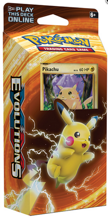 Pokemon XY Evolutions Theme Deck - Pikachu-Cherry Collectables