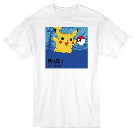 Catch'em all Short Sleeve White T-Shirt-Cherry Collectables
