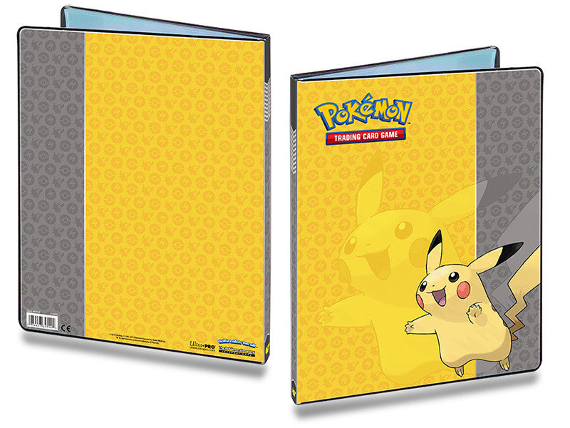 Ultra Pro 9 Pocket Pokemon Pikachu Portfolio-Cherry Collectables