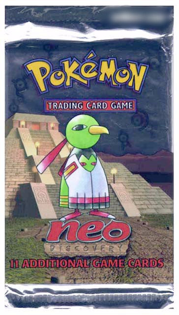 Pokemon TCG Neo Discovery Unlimited Booster Pack-Cherry Collectables