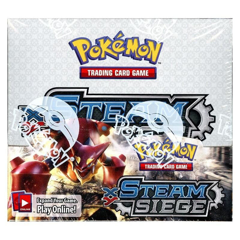 Pokemon XY11 Steam Siege Booster Box-Cherry Collectables