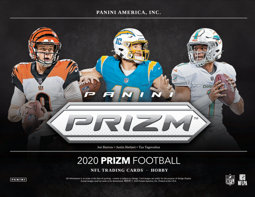 2020 Prizm NFL 6-Box Half Case Break #0884 - Random Team - Nov 4 (Night)-Cherry Collectables