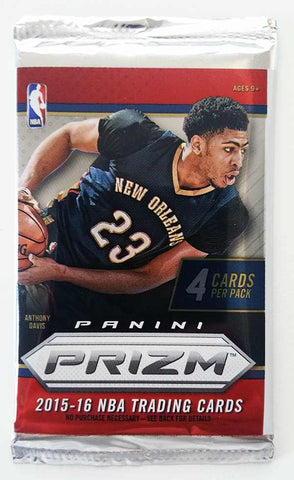 2015/16 Panini Prizm Basketball Hobby Pack - Cherry Collectables - 1