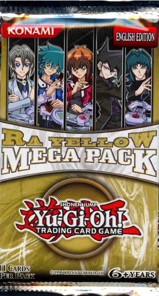 Yu-Gi-Oh! TCG Ra Yellow Mega Pack-Cherry Collectables