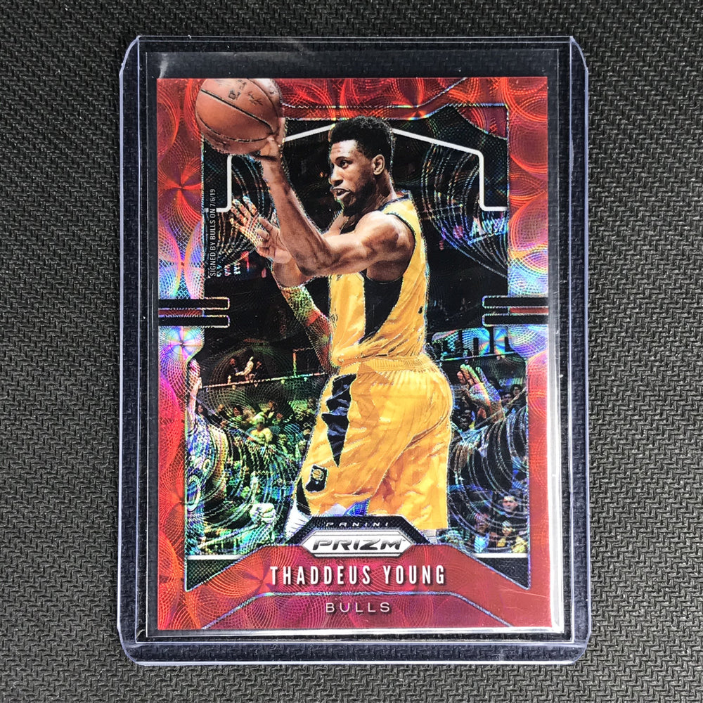 2019-20 Prizm THADDEUS YOUNG Choice Red Prizm 16/88 #217-Cherry Collectables