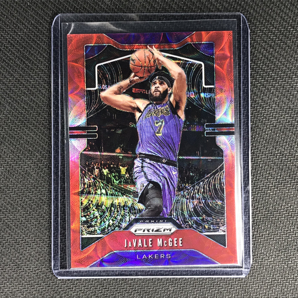 2019-20 Prizm JAVALE MCGEE Choice Red Prizm 83/88 #225-Cherry Collectables