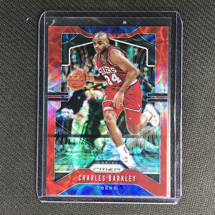 2019-20 Prizm CHARLES BARKLEY Choice Red Prizm 83/88 #2-Cherry Collectables