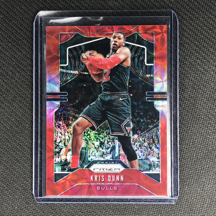 2019-20 Prizm KRIS DUNN Choice Red Prizm 36/88 #62-Cherry Collectables