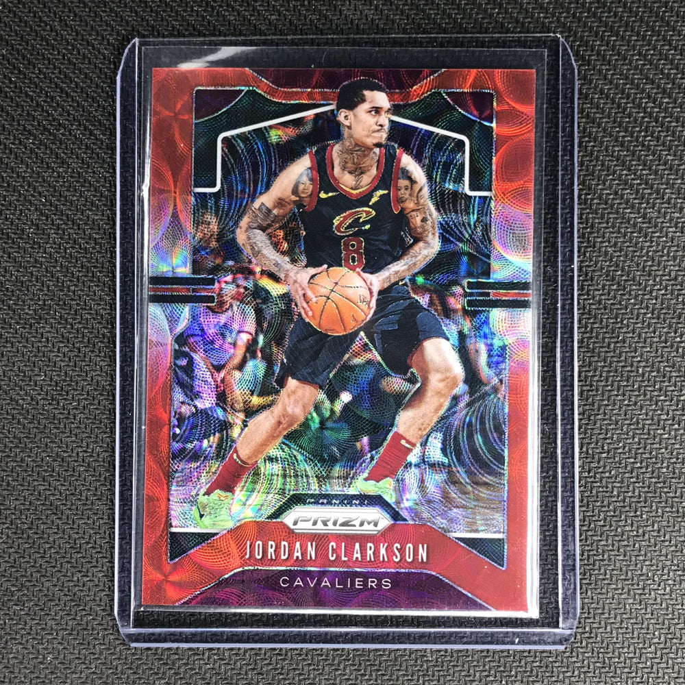 2019-20 Prizm JORDAN CLARKSON Choice Red Prizm 10/88 #69-Cherry Collectables