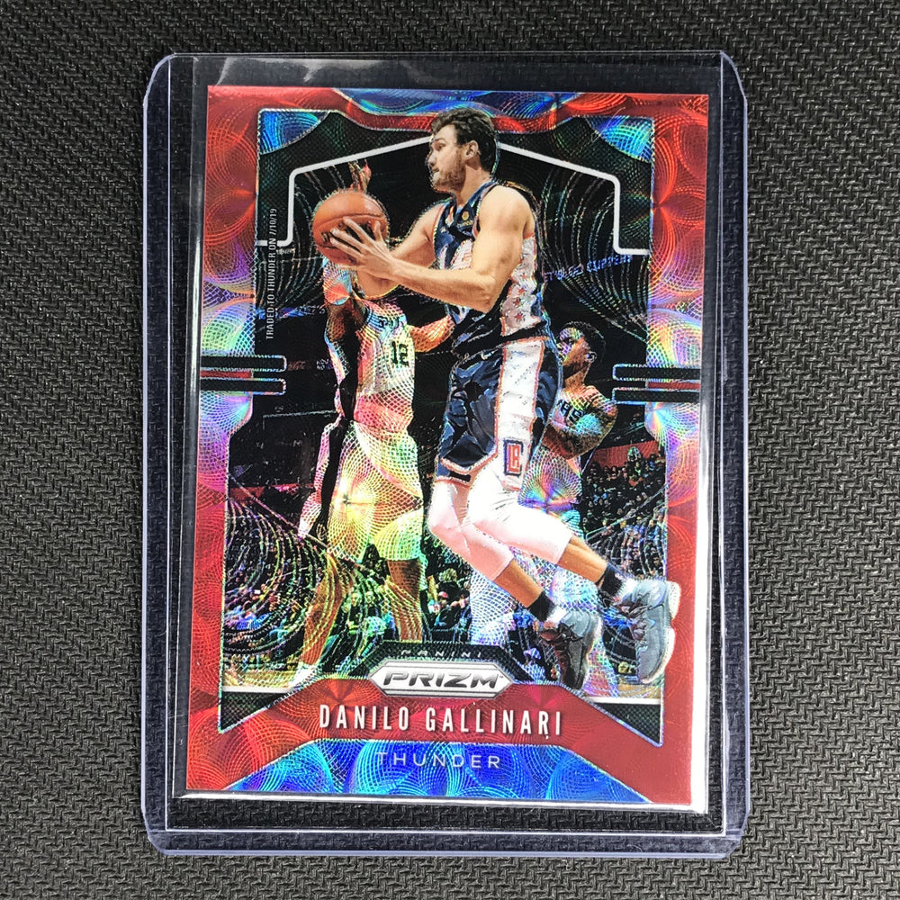 2019-20 Prizm DANILO GALLINARI Choice Red Prizm 41/88 #123-Cherry Collectables