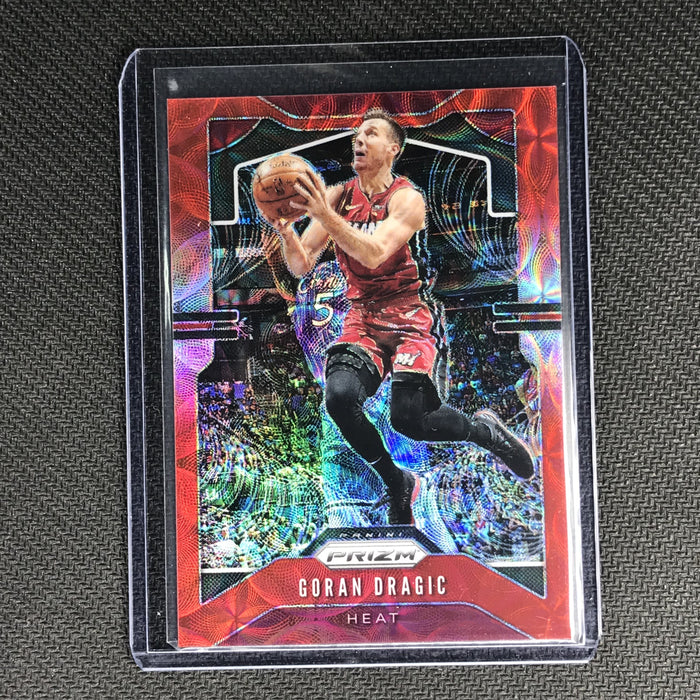 2019-20 Prizm GORAN DRAGIC Choice Red Prizm 81/88 #145-Cherry Collectables