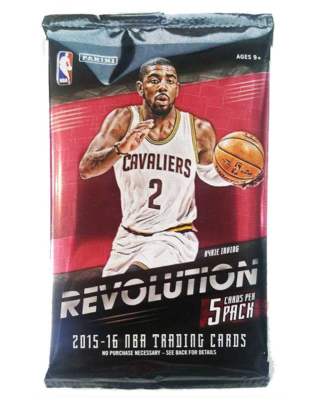 2015/16 Panini Revolution Basketball Hobby Pack-Cherry Collectables
