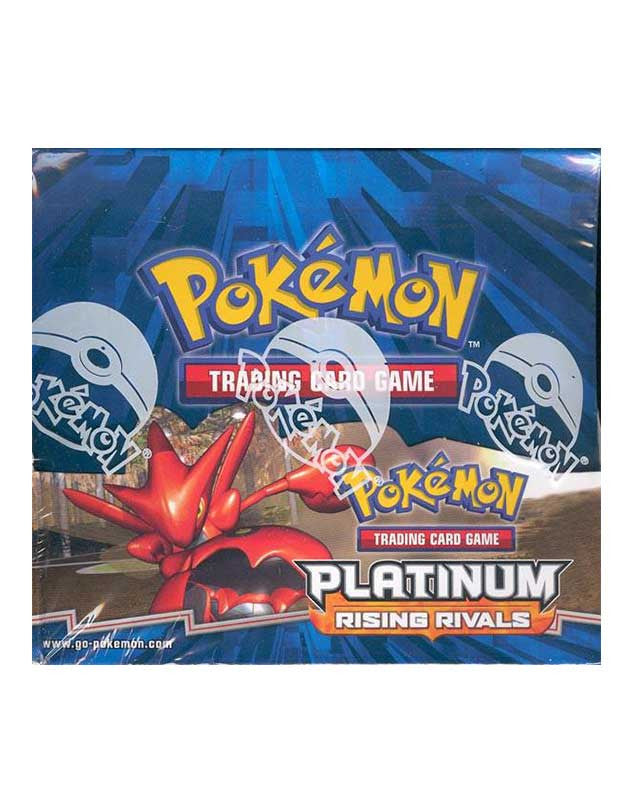 Pokemon Platinum Rising Rivals Booster Box-Cherry Collectables