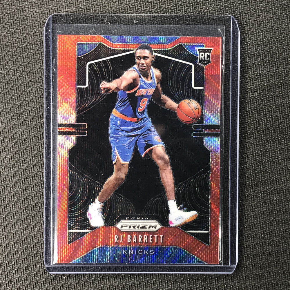 2019-20 Prizm RJ BARRETT Ruby Wave Prizm Rookie #250-Cherry Collectables