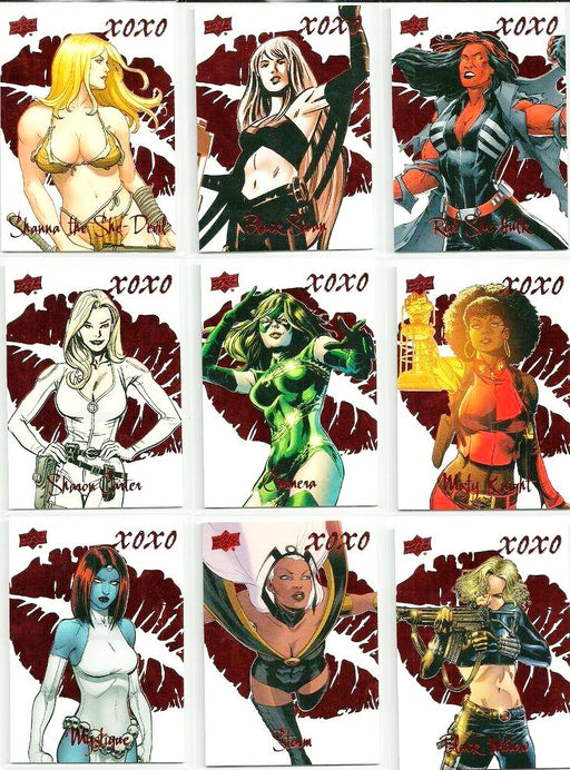 2016 Marvel Gems XOXO - Pick Your Card-Cherry Collectables