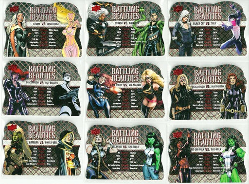 2016 Marvel Gems Battling Beauties - Pick Your Card-Cherry Collectables