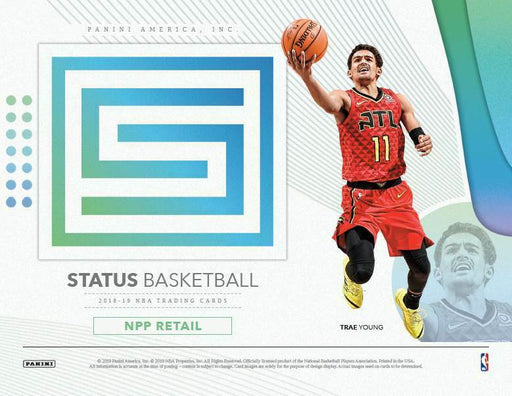 2018-19 Panini Status Basketball Retail Blaster 8-Pack Box-Cherry Collectables