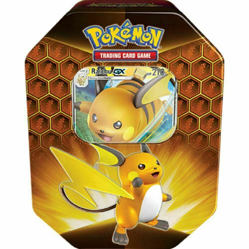 Pokemon TCG Hidden Fates Tin Raichu-Cherry Collectables