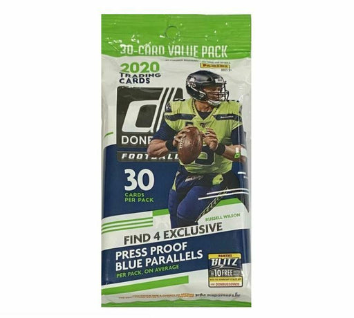 2020 Panini Donruss Football Fat Pack-Cherry Collectables