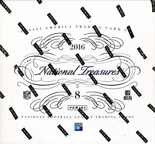 2016 Panini National Treasures Football Hobby Box-Cherry Collectables
