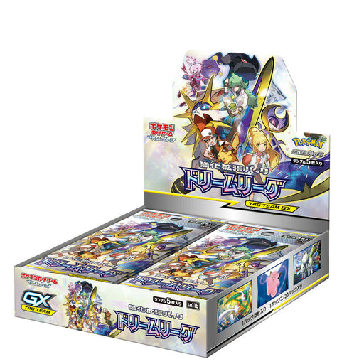 Pokemon TCG JAPANESE Sun & Moon SM11b Dream League Booster Box-Cherry Collectables