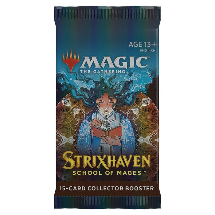 Magic the Gathering Strixhaven: School of Mages Collector Booster Pack (Pre Order April 23)-Cherry Collectables