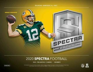 2020 Spectra NFL 1-Box Break #1150 (WIN BENGALS) - Team Based - Oct 19 (Night)-Cherry Collectables