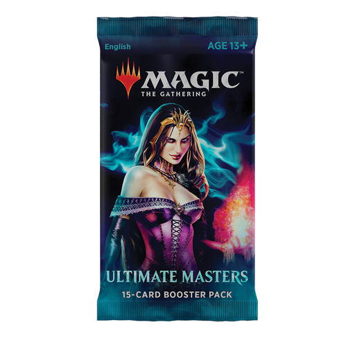 Magic the Gathering Ultimate Masters 2018 Booster Pack-Cherry Collectables