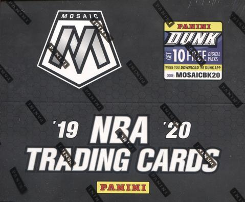 2019-20 Panini Mosaic Fast Break Basketball Hobby Pack-Cherry Collectables
