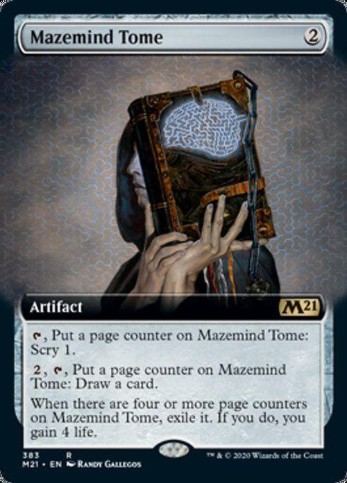 EXTENDED ART - Mazemind Tome 383 - Core Set 2021-Cherry Collectables