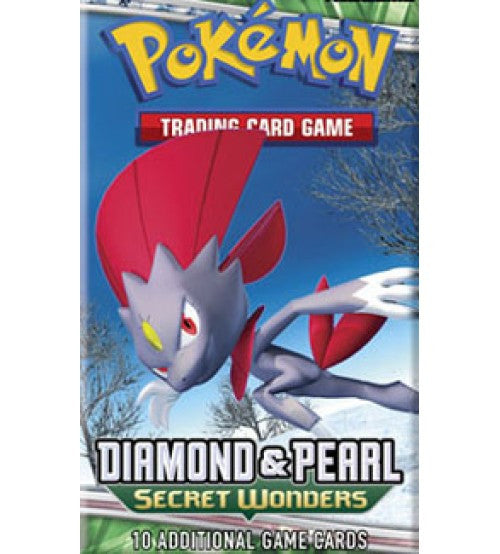 Pokemon Diamond & Pearl Secret Wonders Booster Pack-Cherry Collectables