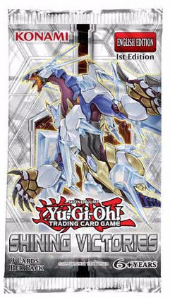 Yu-GI-Oh! Shining Victories Booster Pack-Cherry Collectables