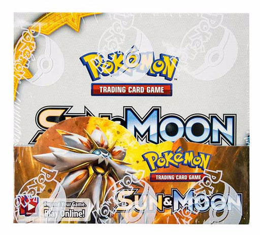 Pokemon TCG Sun & Moon Booster Box-Cherry Collectables