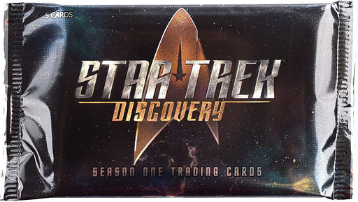 Star Trek Discovery Season 1 Trading Cards Pack (Rittenhouse 2019)-Cherry Collectables
