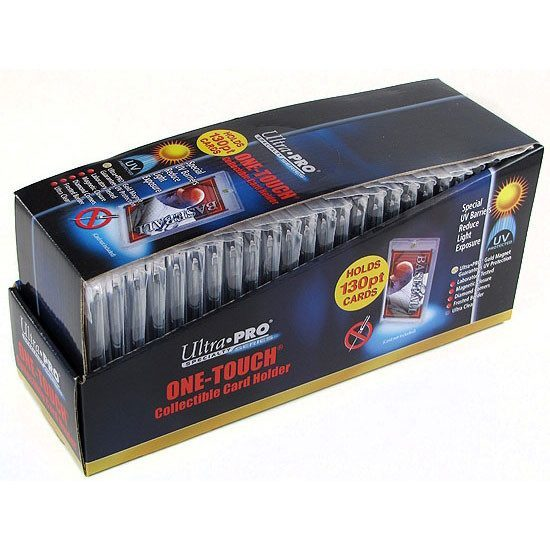 Ultra Pro 130pt. Magnetic One Touch Card Holder Box - 25 Units-Cherry Collectables