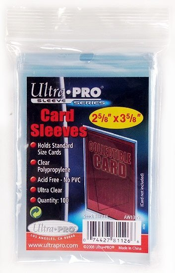 Ultra Pro Soft Standard Card Sleeves-Cherry Collectables
