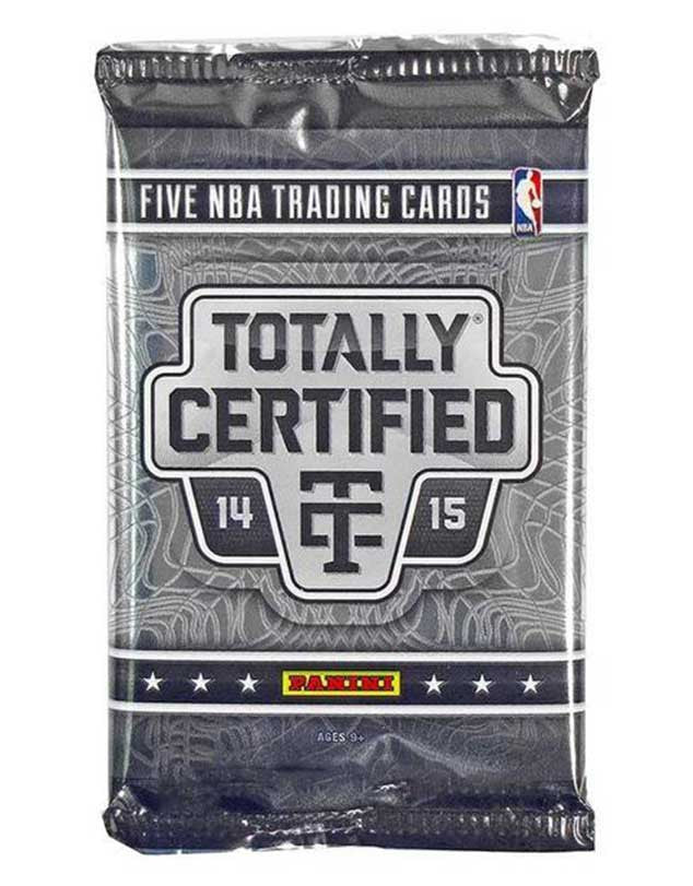 2014/15 Panini Totally Certified Basketball Hobby Pack-Cherry Collectables