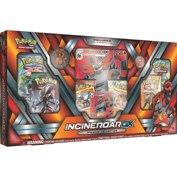 Pokemon TCG GX Premium Collection Incineroar-Cherry Collectables