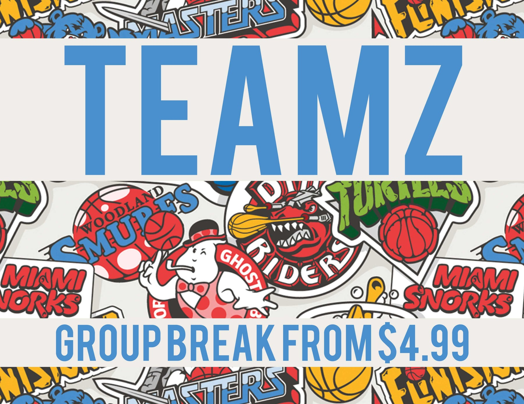 Teamz - Multi-Year 4-Box Team Based Break #0076 - Jun 11 (Night)-Cherry Collectables