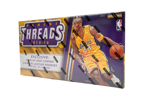 2015/16 Panini Threads Premium Basketball Hobby Box-Cherry Collectables