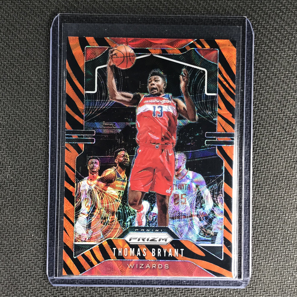 2019-20 Prizm THOMAS BRYANT Tiger Prizm SSP #195-Cherry Collectables