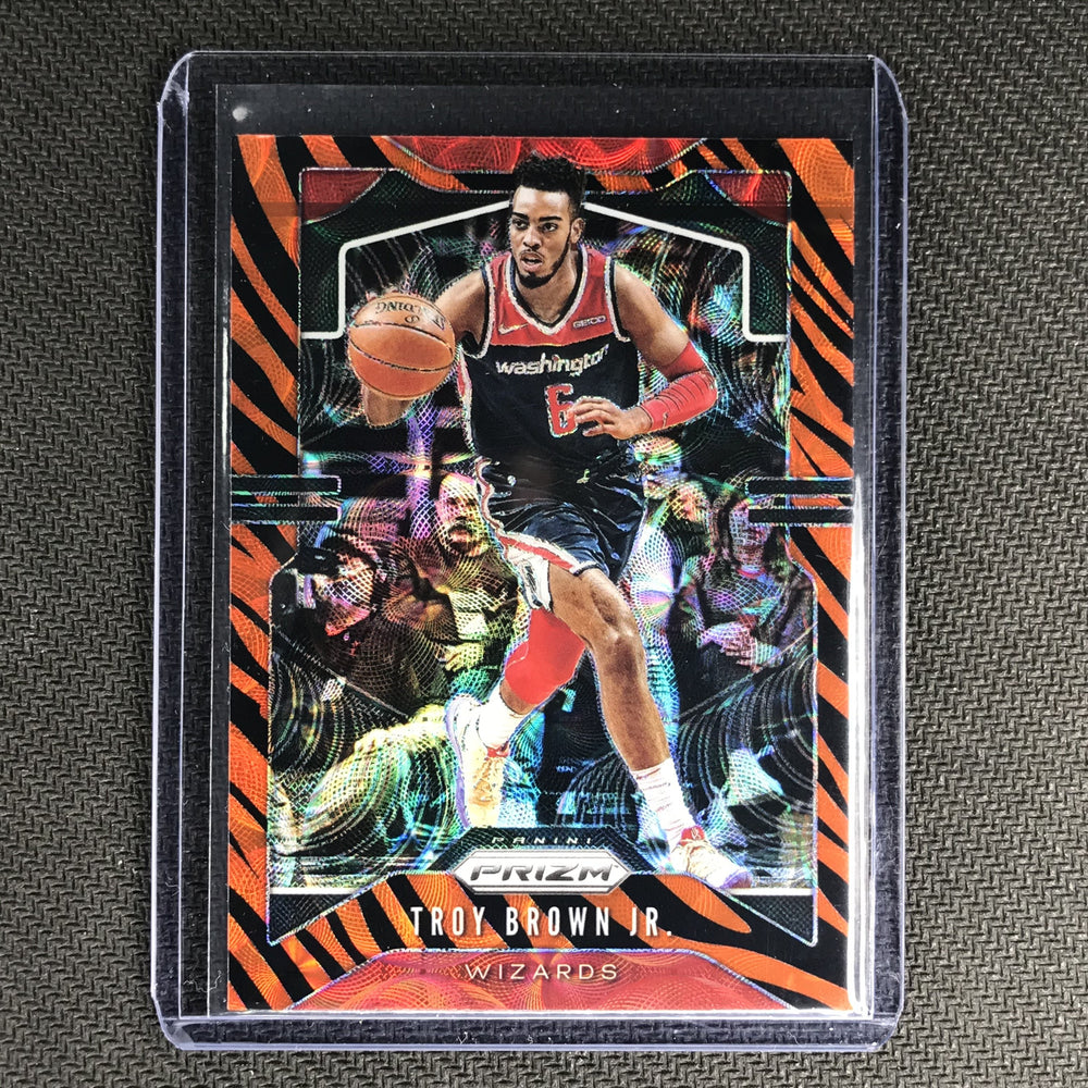 2019-20 Prizm TROY BROWN JR. Tiger Prizm SSP #196-Cherry Collectables