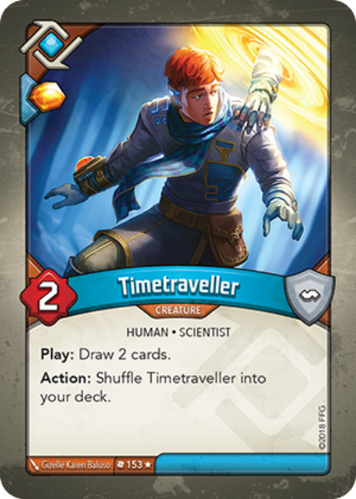 KEYFORGE DECK: Timetraveller-Cherry Collectables