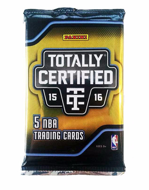 2015/16 Panini Totally Certified Basketball Hobby Pack-Cherry Collectables