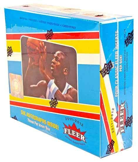 2011/12 Upper Deck Fleer Retro Basketball Hobby Box-Cherry Collectables