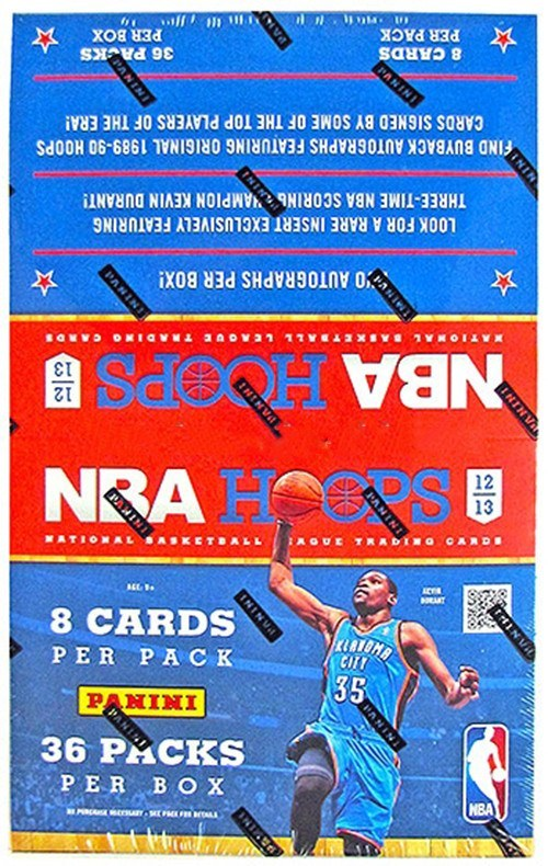 2012/13 NBA Hoops Basketball Hobby Box-Cherry Collectables