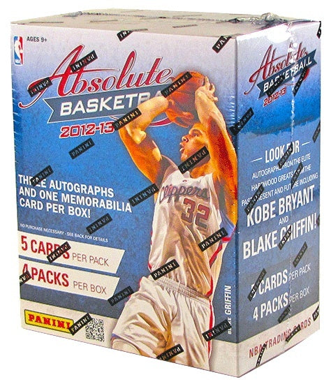2012/13 Panini Absolute Memorabilia Basketball Hobby Box-Cherry Collectables