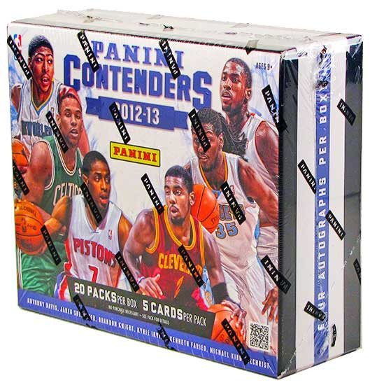 2012/13 Panini Contenders Basketball Hobby Box-Cherry Collectables