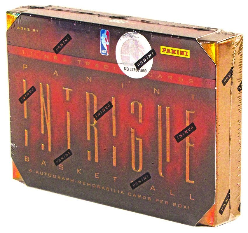 2012/13 Panini Intrigue Basketball Hobby Box-Cherry Collectables