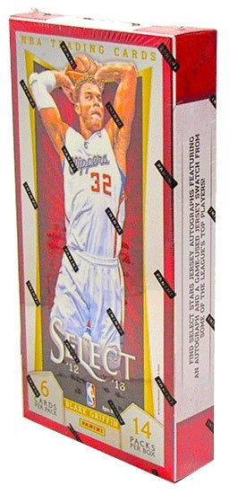 2012/13 Panini Select Basketball Hobby Box-Cherry Collectables
